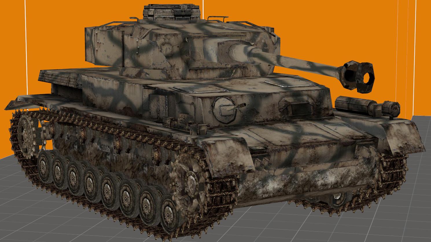 Panzer IV, Model WaW