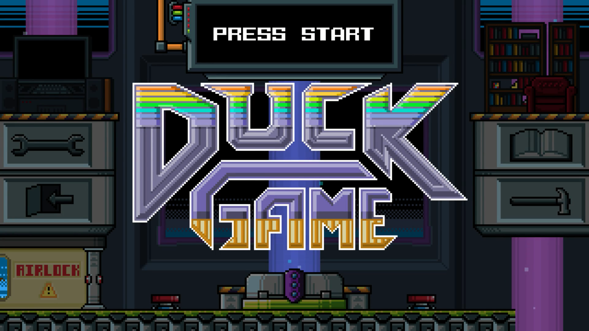 duck game start menu