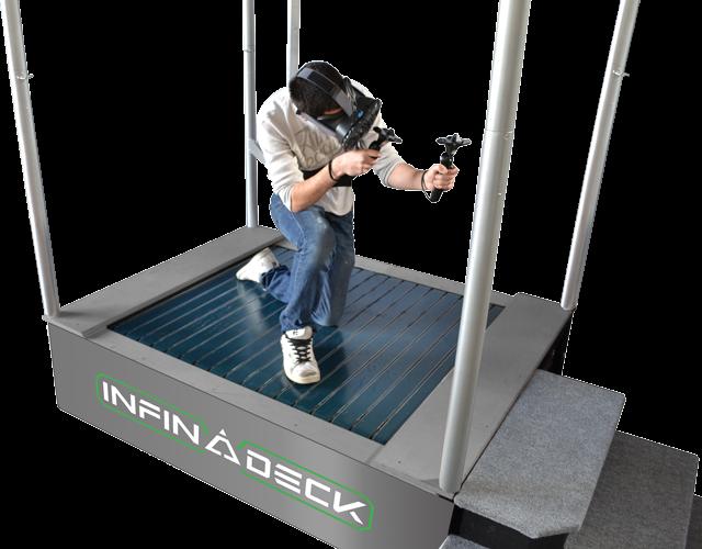 infina deck aiming