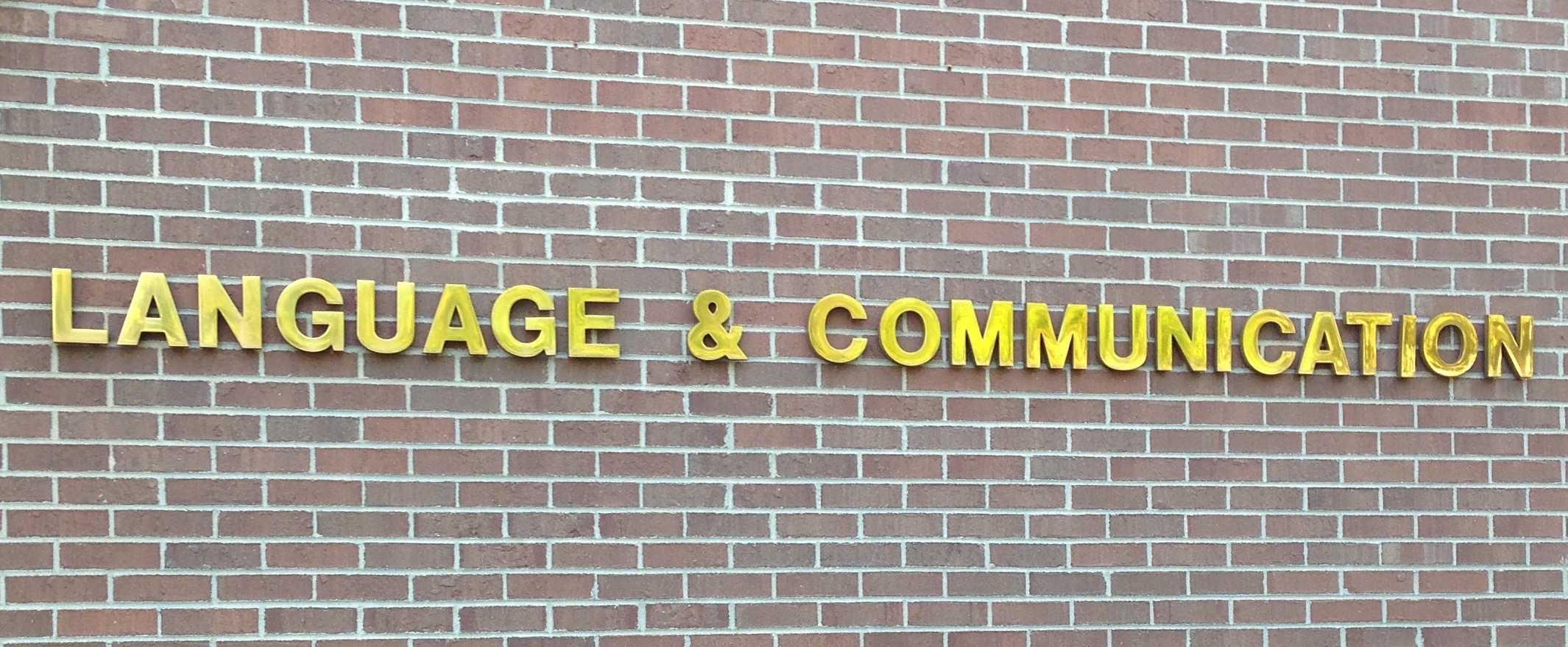 Language & Communication (LNCO)