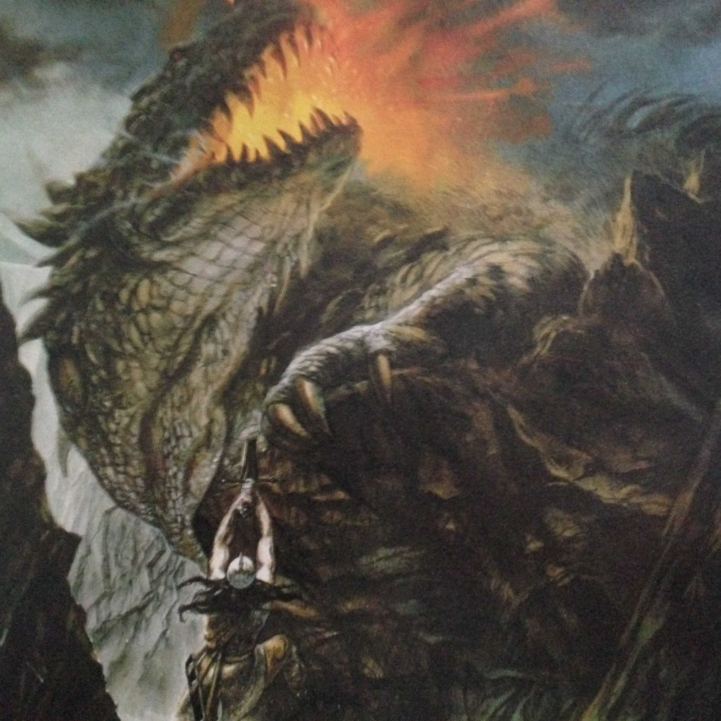 Turambar and Glorund, The Book of Lost Tales, Volume 2 By John Howe