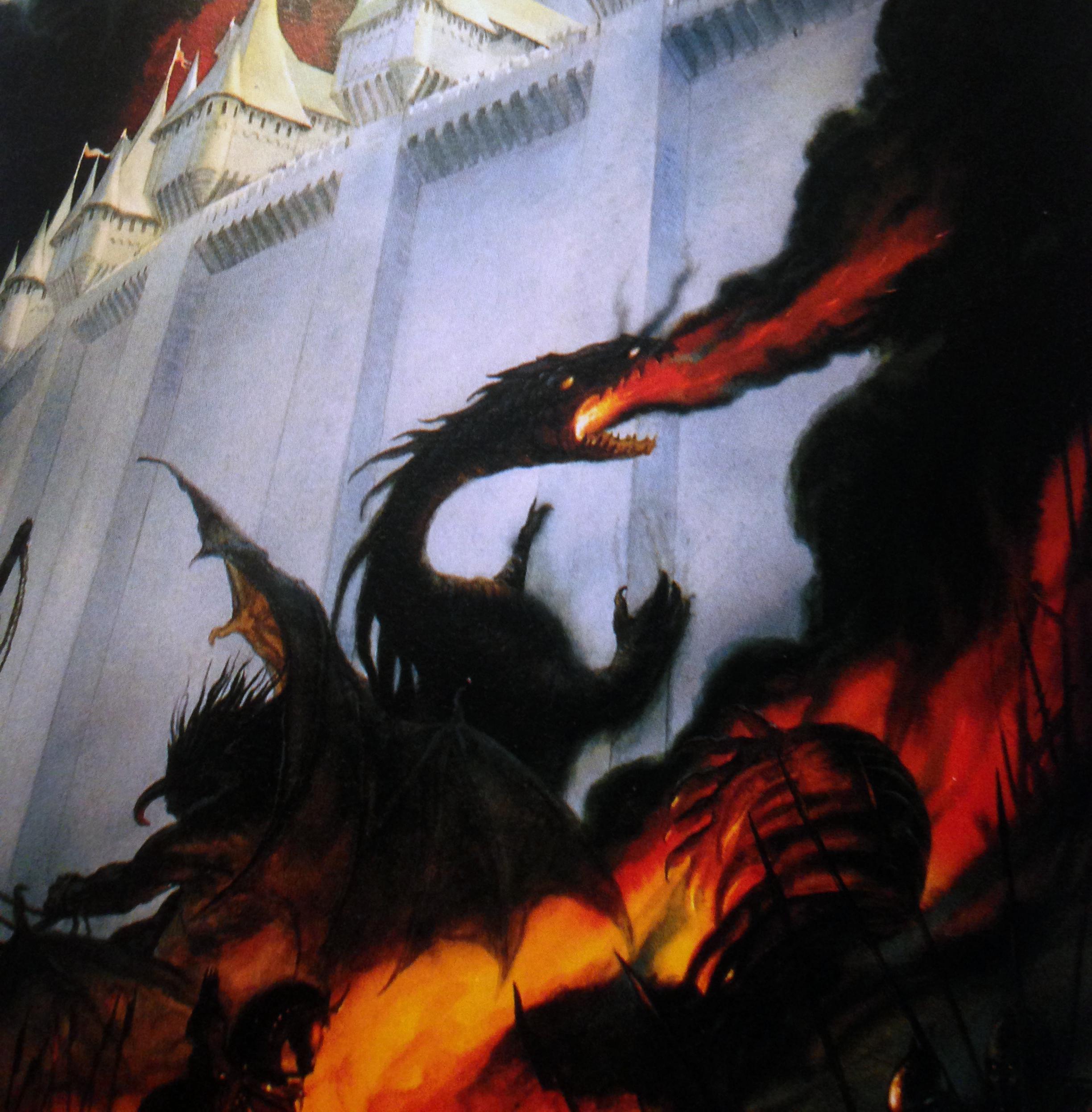 John How's, The Fall of Gondolin