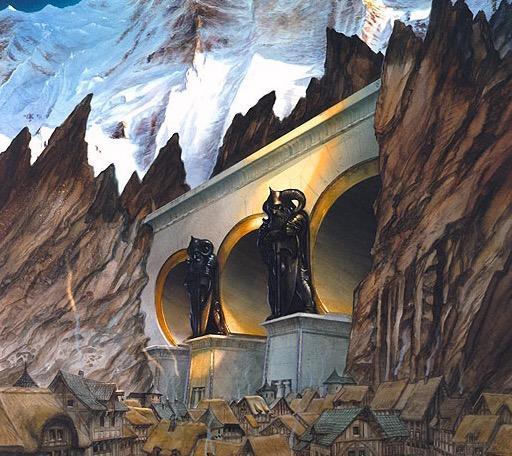 Throal, the Dwarf Kingdom by John Howe
