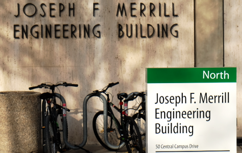 Joseph F. Merril Engineering Building (MEB). North Campus