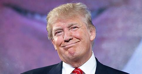 trump-smirking