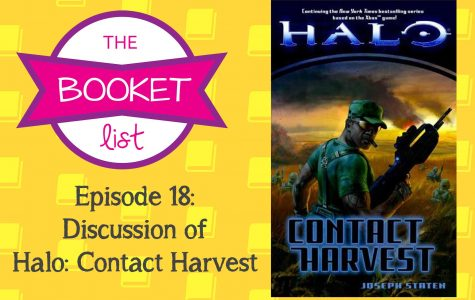 The Booket List Episode 18: Discussion of Halo: Contact Harvest