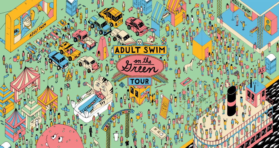 [Adult Swim] On The Green Experience