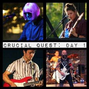Crucial Quest: Day 1