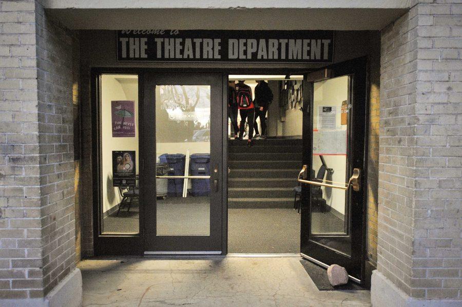 Floodlights: Performing Arts Building
