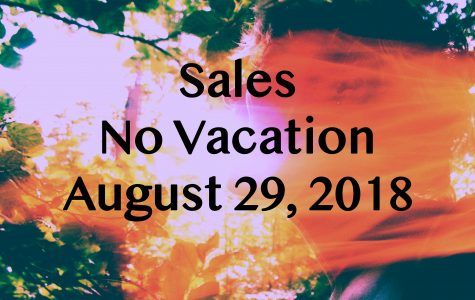 Caught in a Dream – Sales at In the Venue