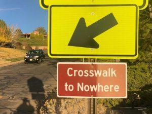 Hidden Gems of SLC: Crosswalk To Nowhere