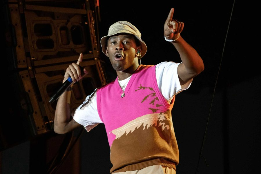 Mandatory Credit: Photo by Suzanne Cordeiro/REX/Shutterstock (9947078r) Tyler the Creator Mala Luna Music Festival, Austin, USA - 27 Oct 2018