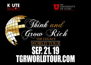 Think and Grow Rich Legacy World Tour announces new tour stop in Salt Lake City